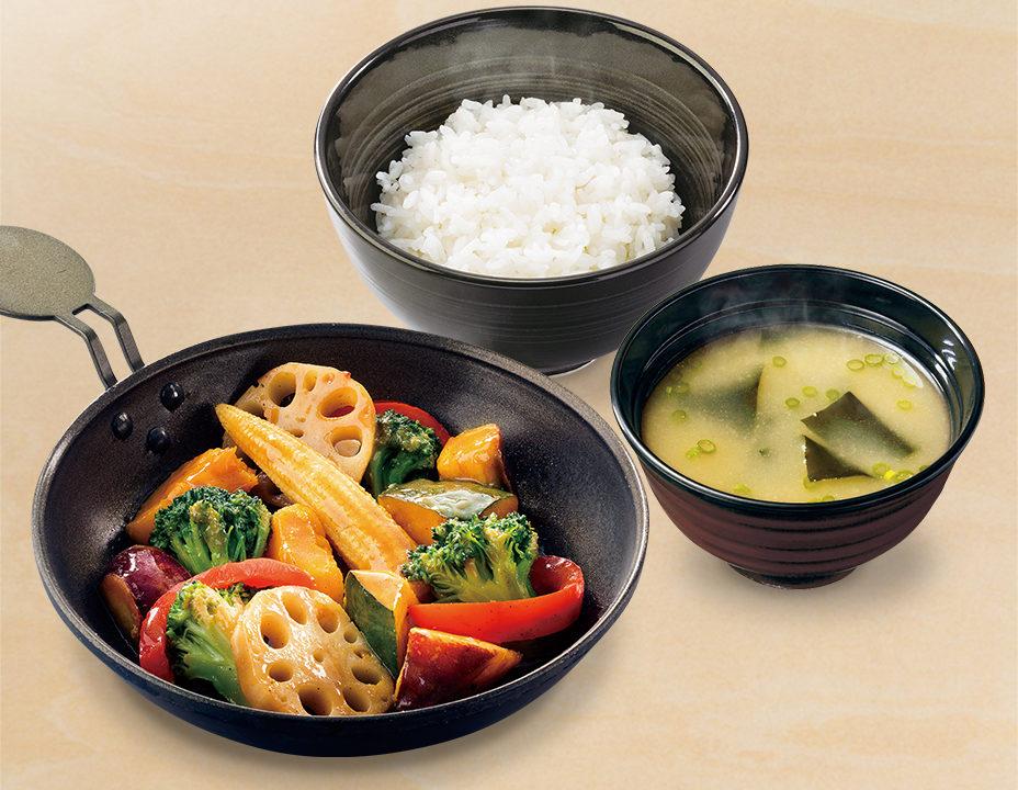 vegetable-teishoku
